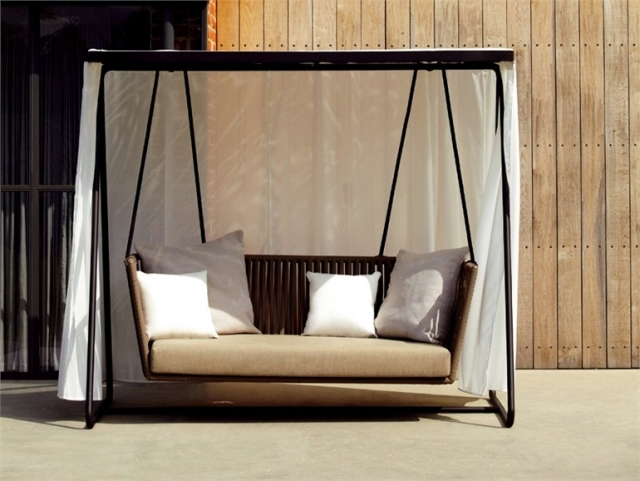 18 modern garden swing design for garden and terrace