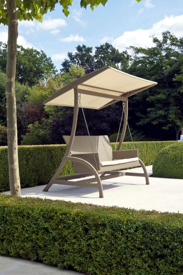 18 modern garden swing design for garden and terrace