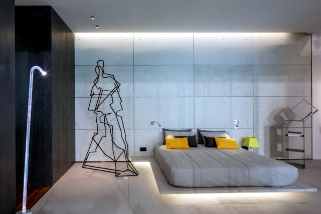 A charming interior design is the effective light