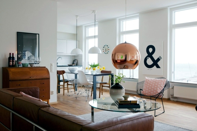25 decorating ideas living room in Scandinavian style | Interior ...