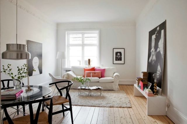 25 decorating ideas living room in Scandinavian style ...