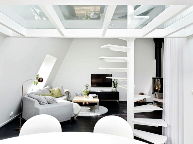 25 decorating ideas living room in Scandinavian style