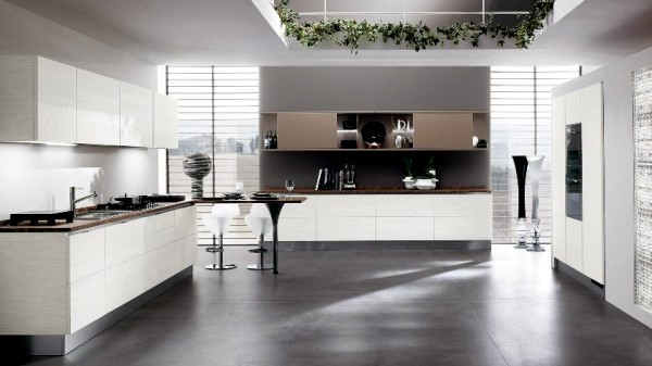Modern Design of Scavolini kitchens for small and large spaces