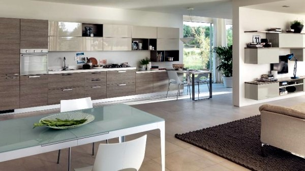 Kitchens contemporary style created for