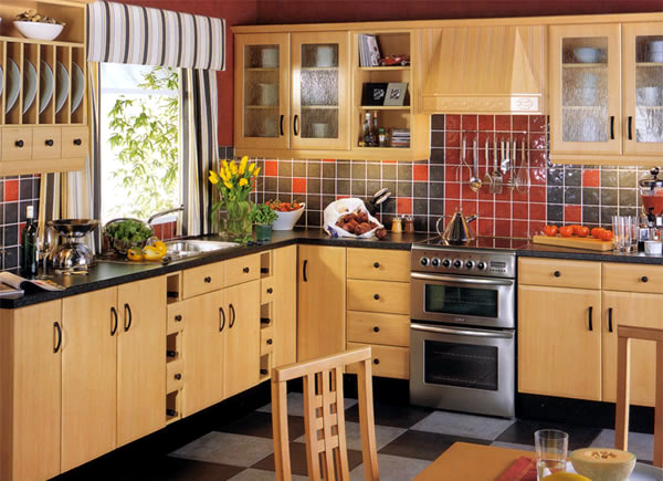 Feng Shui Kitchen Design   Warm, Cheerful Colors