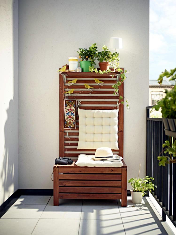 Bench For The Balcony Interior Design Ideas Ofdesign