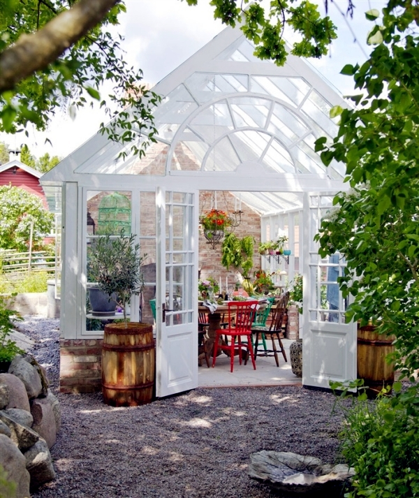 Adjust Conservatory Ideas For Green And Relaxing