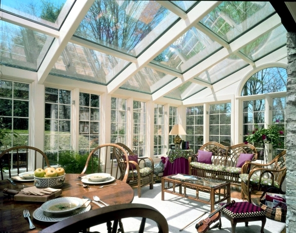 Adjust conservatory - Ideas for green and relaxing wellness oasis