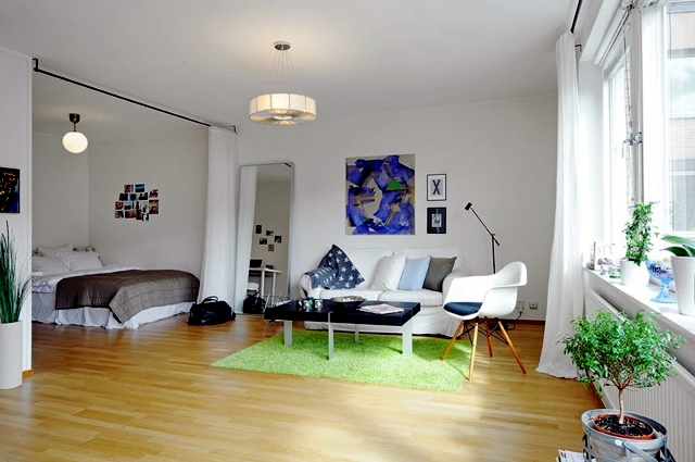Decorating ideas for small studio apartment | Interior Design Ideas ...