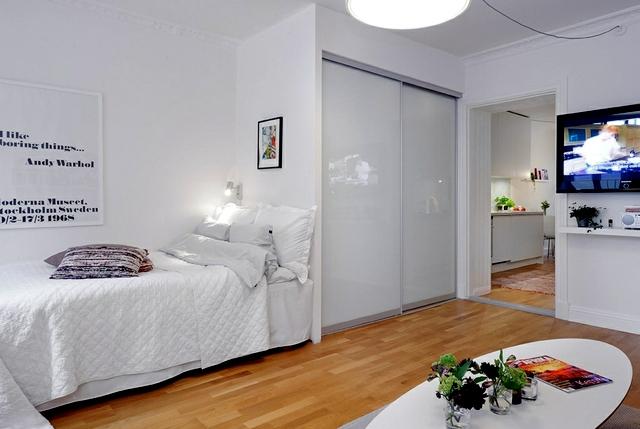 Decorating ideas for small studio apartment Interior Design Ideas