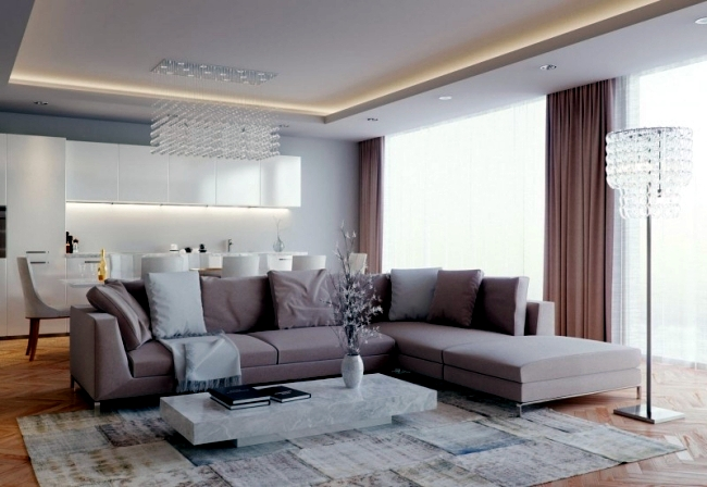 Interior of a luxury home - 3D views Eduard Caliman