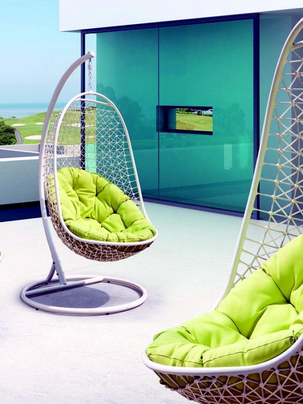 Modern hanging chairs designs for garden patio and relax in summer