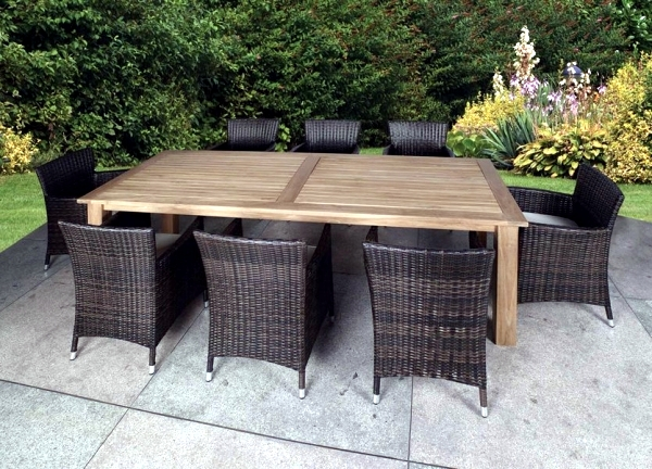 Amazing Poly Rattan Garden Furniture The Right Look For Your Modern Room  With Polyrattan