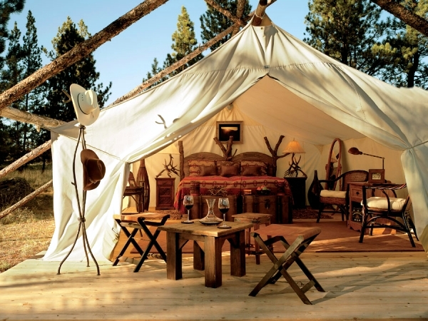 C&ing & O Glamping glamorous camping holidays luxury safari tents ...
