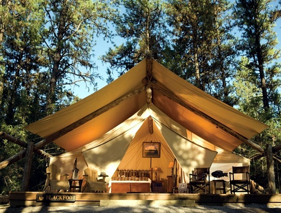 O Glamping glamorous camping holidays luxury safari tents