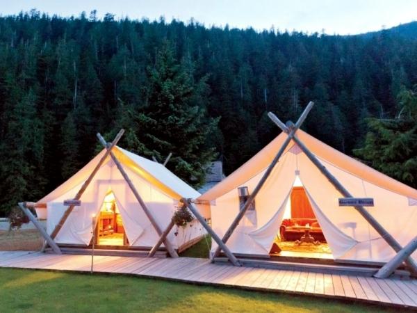 O Glamping glamorous camping holidays luxury safari tents