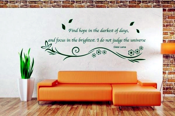 Interior Design Quotes Glamorous Cold Wall Custom Sayings Inside Decals More Individuality