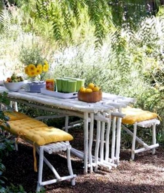 Garden Furniture DIY-20 creative designs for terrace
