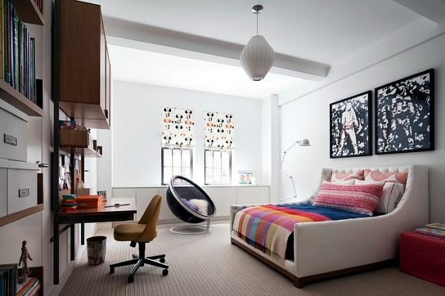 Design Apartment In New York Indi Interiors Combines Art And Modernity Interior Design Ideas