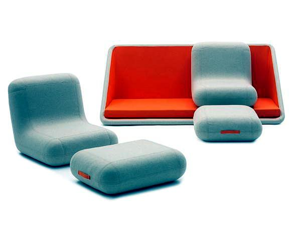 "The modular sofa ""Concentrate life"" by Campeggi"