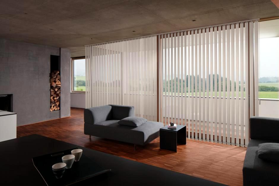Vertical Blinds  Hunter Douglas Architectural