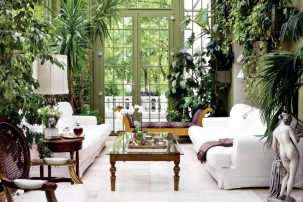 Tips for winter garden green oasis center privacy Interior