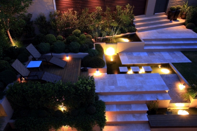 Create hillside garden and terrace design - tips from the pros