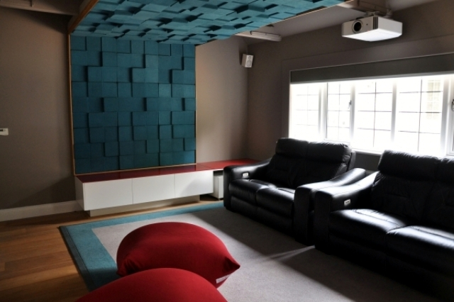 Merveilleux Beautiful Interior Design Ideas For Walls With Decorative Acoustic Panels