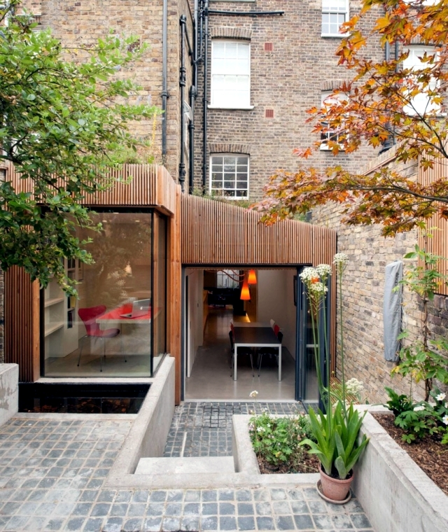 Home Design Ecological Ideas: Jewel Box In The Extension Of The London House With Eco