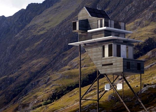 The Unique Design 3d Home Challand Benoit Takes On Long