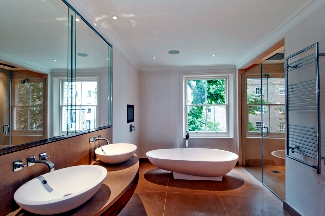 Minimalist bathroom design - 33 ideas for stylish bathroom design