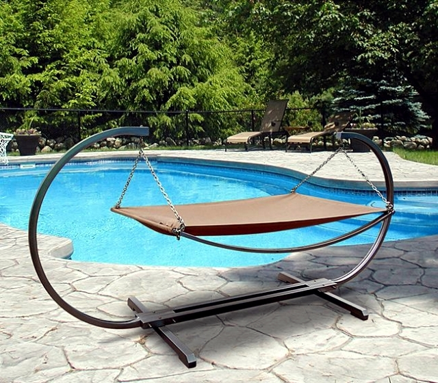 Hammocks patio and garden offer a summer key