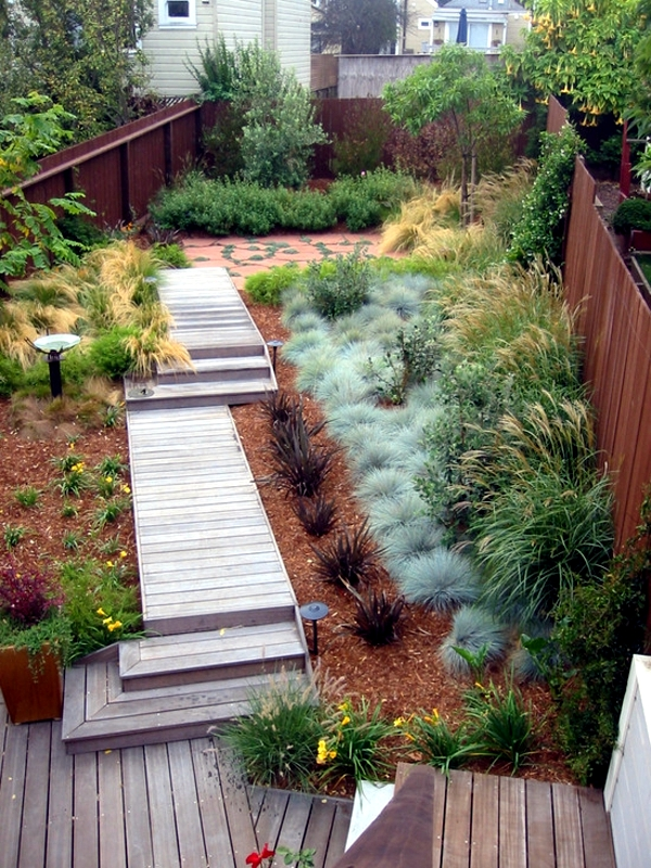 Perennials In The Garden Design Ideas With Pampas Grass