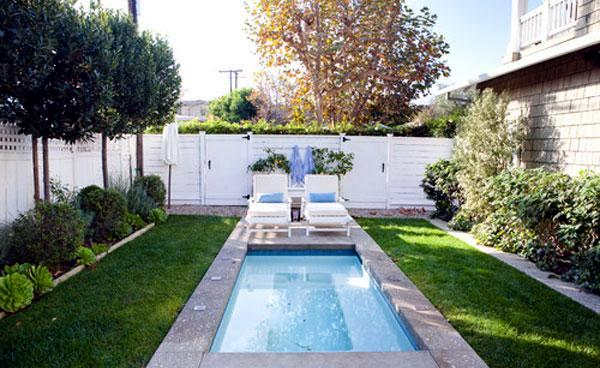 15 amazing ideas for the pool in the courtyard