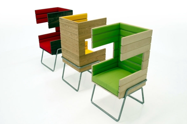 Living Room - Designers chairs invite you to relax