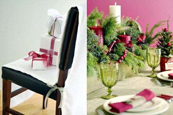 Table Decoration Craft Ideas for Christmas festive Christmas Eve