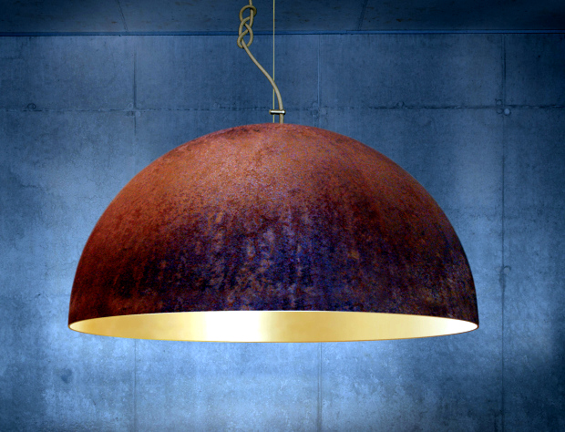 The lighting design by mammalampa - raw materials and elegant appearance