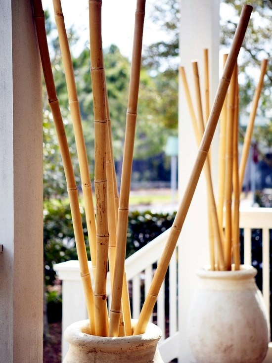 24 Ideas For Decorative Bamboo Poles   How Bamboo Is Used In The Room?