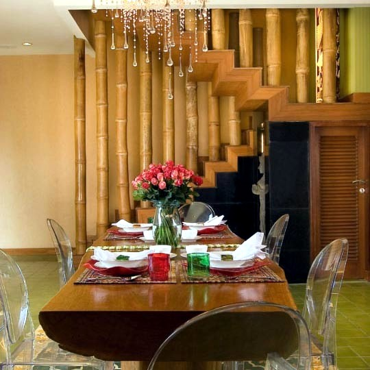 24 Ideas For Decorative Bamboo Poles How Is Used In The Room Interior Design