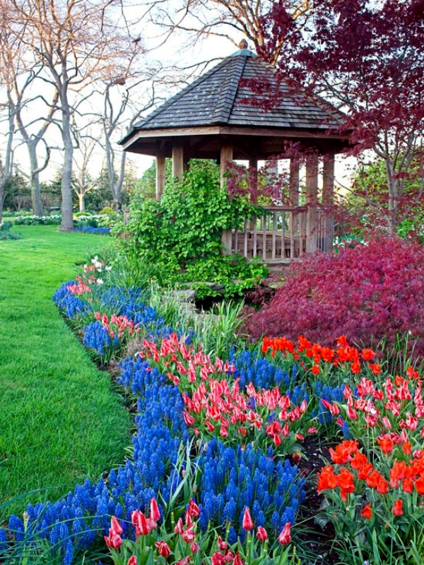 Color scheme for your garden landscaping Plan-choose the best colors
