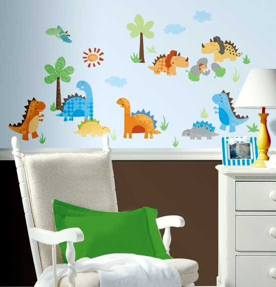 Bumper nursery - decorating ideas wall in your child's room