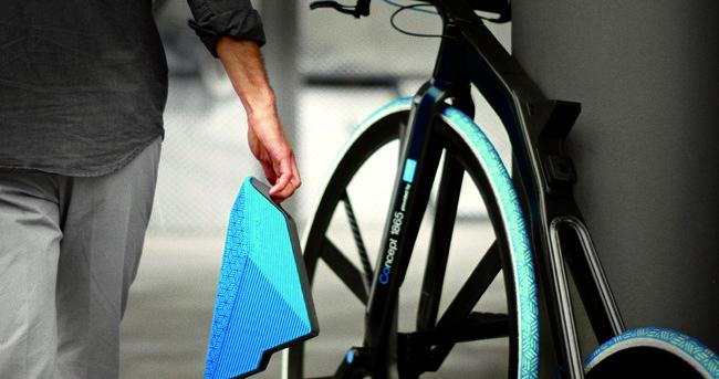 Plastics Design Concept Modern E-Bike 1865 by BASF DING3000 +