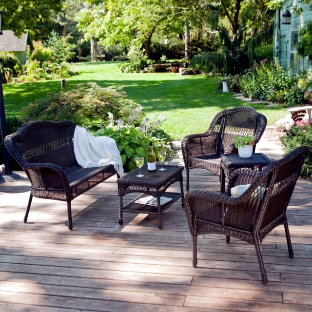 Poly Rattan Garden Furniture   Impervious To Sun And Rain