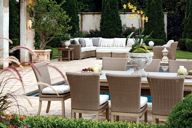how to clean rattan furniture