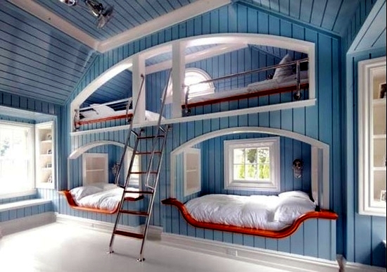 The bedroom in the nursery 20 great ideas for decorating for Sleeping room decoration