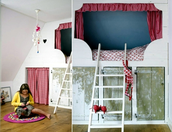 The bedroom in the nursery - 20 great ideas for decorating room