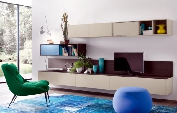 Contemporary wall units - Call diversity through modular concepts