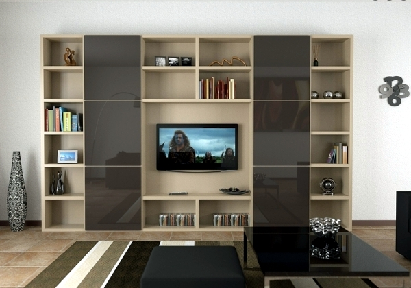 Contemporary wall units - Call diversity through modular concepts