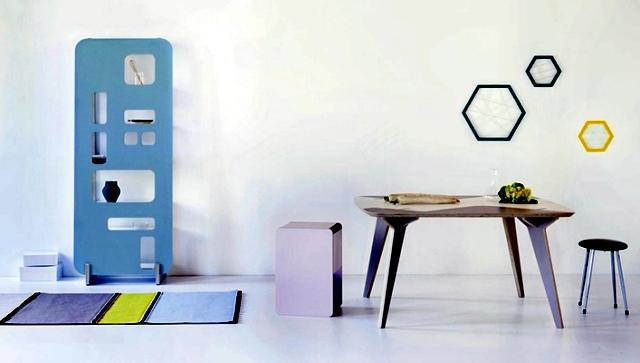 Wall shelf design Priscilla - show or hide the decorative elements?