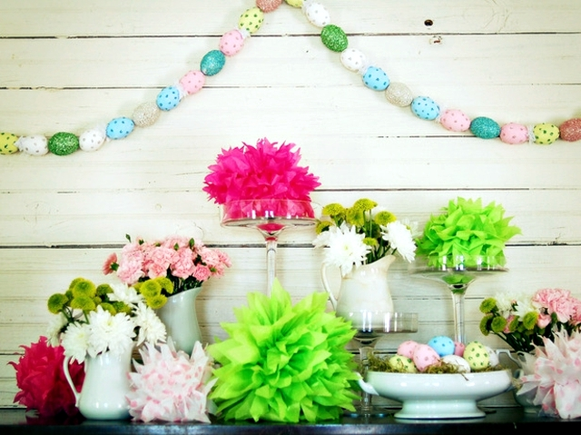Easter Decoration Crafts 20 Ideas Nursery Garlands